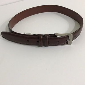 Boy's Brown Leather Belt